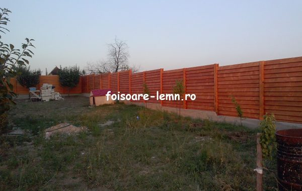 Gard din lemn Andora