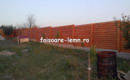 Gard din lemn Andora 02