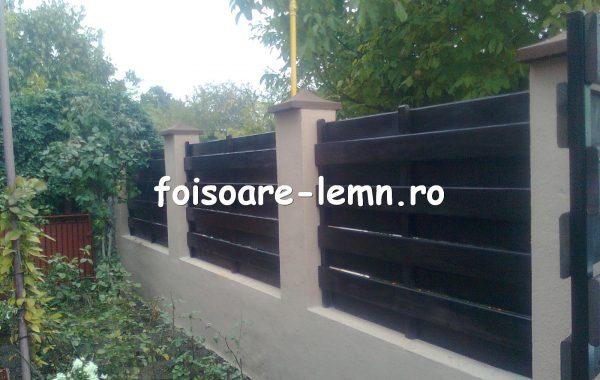 Gard din lemn Ankona