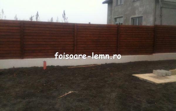 Gard din lemn Antonia