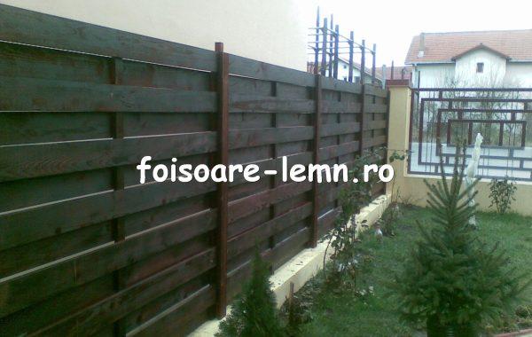 Gard din lemn Dania