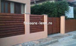 Gard din lemn Vivian 01