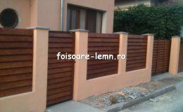 Gard din lemn Vivian 02
