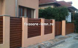 Gard din lemn Vivian 03