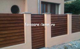 Gard din lemn Vivian 04