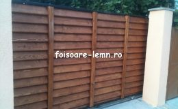 Gard din lemn Vivian 05