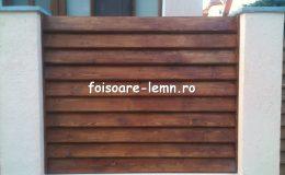 Gard din lemn Vivian 06