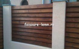 Gard din lemn Vivian 09