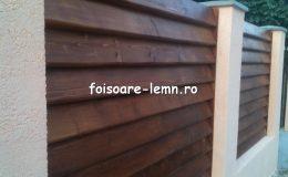 Gard din lemn Vivian 11