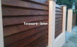 Gard din lemn Vivian 12