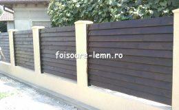 Gard din lemn cu porti 01