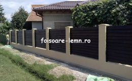 Gard din lemn cu porti 06