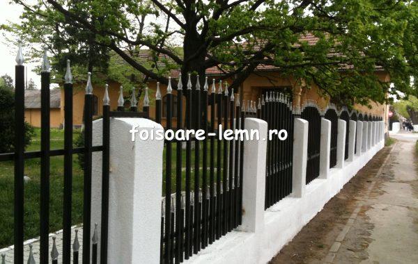 Gard din teava rectangulara