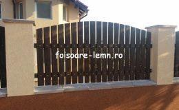 Garduri din lemn Bacau 09