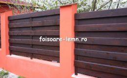 Garduri din lemn Brasov 01