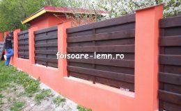 Garduri din lemn Brasov 02