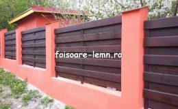 Garduri din lemn Brasov 03