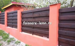 Garduri din lemn Brasov 04