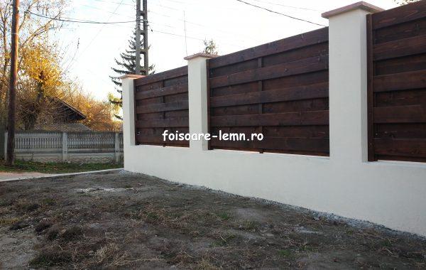 Garduri din lemn Campina