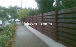 Garduri din lemn Iasi 01