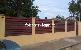 Garduri din lemn Slobozia 02