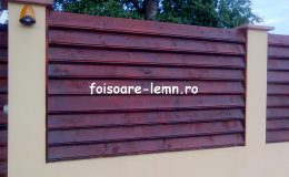 Garduri din lemn Slobozia 03