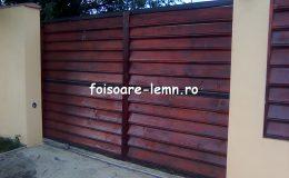Garduri din lemn Slobozia 04