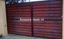 Garduri din lemn Slobozia 05