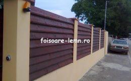 Garduri din lemn Slobozia 06