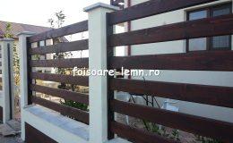 Garduri din lemn Targoviste 07