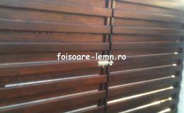 Garduri din lemn Timisoara 01