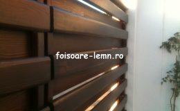 Garduri din lemn Timisoara 03