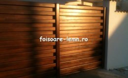Garduri din lemn Timisoara 08