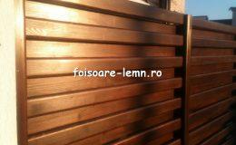 Garduri din lemn Timisoara 09