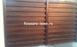 Garduri din lemn Timisoara 12