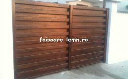 Garduri din lemn Timisoara 13