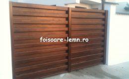 Garduri din lemn Timisoara 14