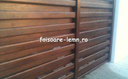 Garduri din lemn Timisoara 15