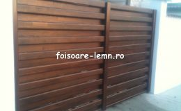 Garduri din lemn Timisoara 18