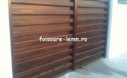 Garduri din lemn Timisoara 19