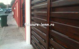 Garduri din lemn Timisoara 23