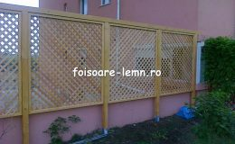 Garduri din lemn pentru gradina 01
