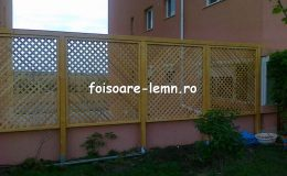 Garduri din lemn pentru gradina 02