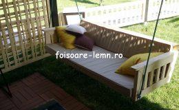 Leagan pentru terasa lemn 03