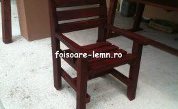 Masa si scaune din lemn masiv 01