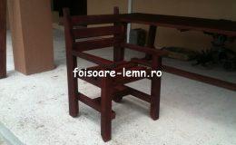 Masa si scaune din lemn masiv 02