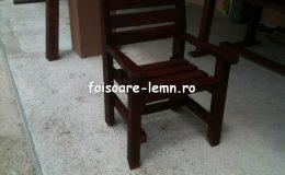 Masa si scaune din lemn masiv 04