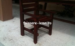 Masa si scaune din lemn masiv 06