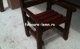 Masa si scaune din lemn masiv 07