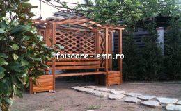 Modele de pergole de lemn 04